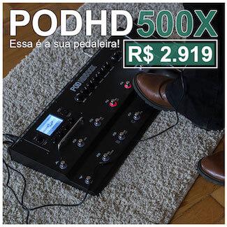 Musilink – POD HD500X – Janeiro 2