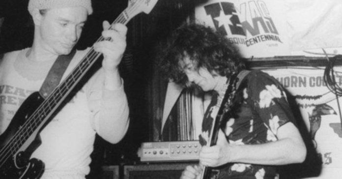 Jaco Pastorius tocando com Jimmy Page
