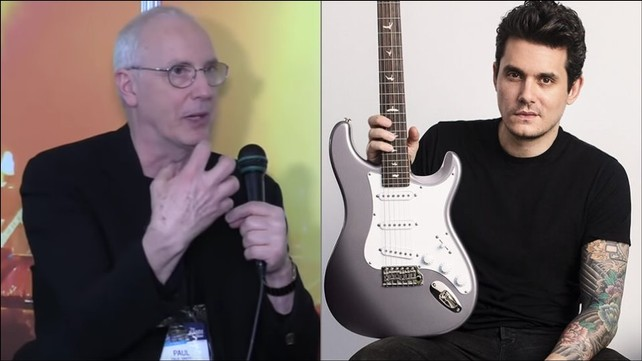 Paul Reed Smith ao lado de John Mayer