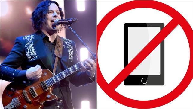 Jack White proíbe celulares em shows