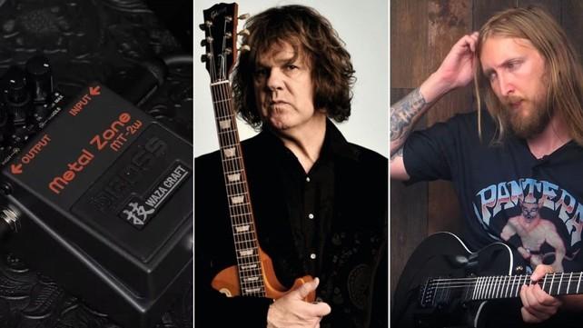 Boss Metal Zone, Gary Moore e Ola Englund